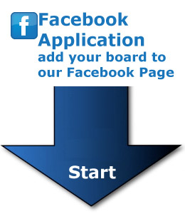 Add your board to our facebook page
