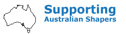Supporting Australian Surfboard Shapers